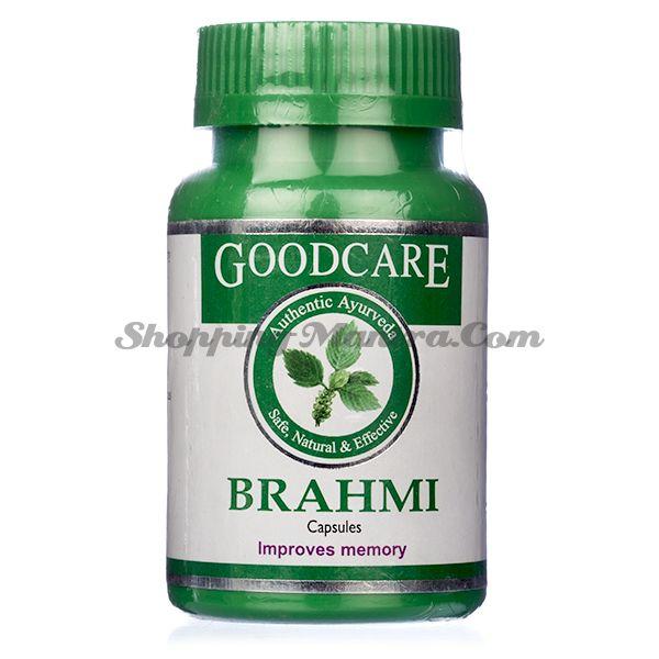 Брами (Бакопа) для укрепления памяти и нервов капсулы Goodcare Pharama Brahmi Capsules