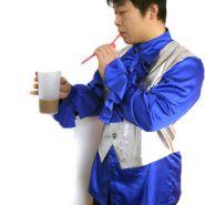 Фокус с исчезновением напитка (сока, молока) из стакана