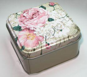 "Подарочная коробка ""Цветок"" квадратная"