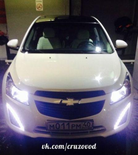 ДХО для Chevrolet Cruze (рестайлинг)