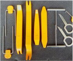 Набор инструментов для снятия обшивки автомобиля (12 предметов)