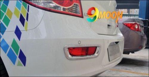 Накладки задние хромированные для Chevrolet cruze (хэтчбек)