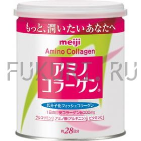 Amino Collagen Meiji в банке (+ ложечка)