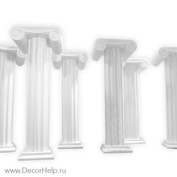 Колонны из пенопласта (набор 6шт)