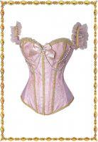 Розовый корсет Капитолина