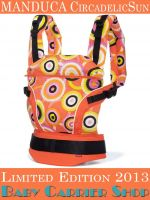 MANDUCA Baby CARRIER LIMITED EDITIONS COLLECTION CircadelicSun