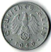 1 рейсх пфенниг. 1940 год. A. Германия.