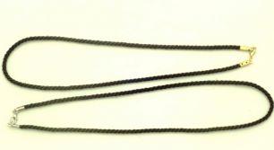 Шнурок скрученный текстиль