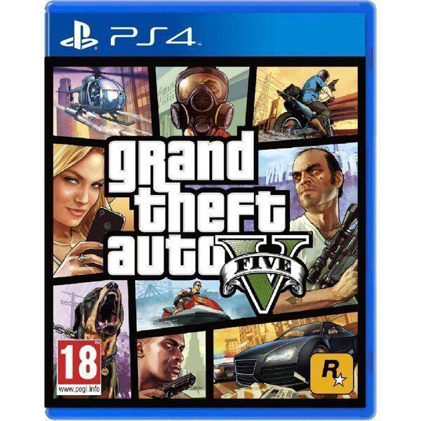 Игра GTA 5 (PS4, русские субтитры)