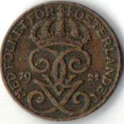 1 эре, Швеция. 1921 год.