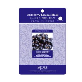Mijin Acai Berry Essence Mask - Маска тканевая с ягодами асаи