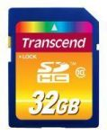 32GB SDHC Card Transcend (Class10) (TS32GSDHC10)
