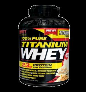 100% Pure Titanium Whey (2240г) от SAN