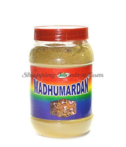 Мадхумардан в порошке для лечения диабета Джайн Аюрведик | Jain Ayurvedic Madhumardan Powder