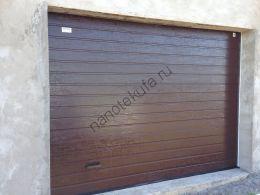 Секционные гаражные подъемные ворота Standart ALUTECH