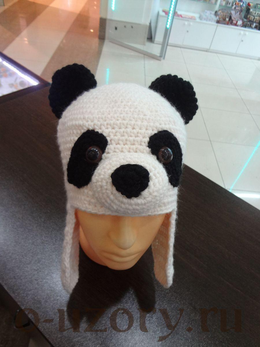 """Шапка """"Панда"""""""