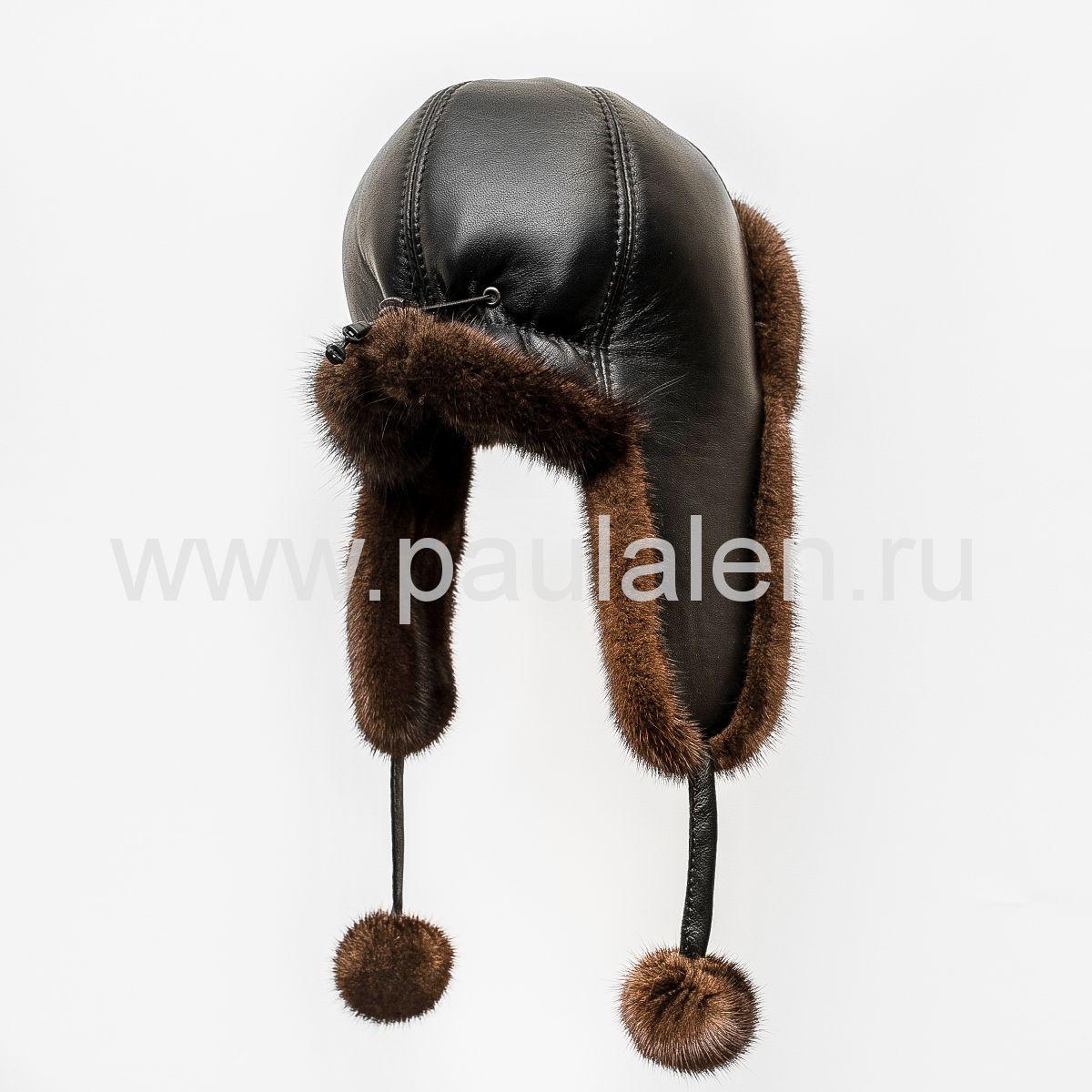 Модная норковая шапка
