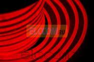 Гибкий неон светодиодный, постоянное свечение, красный, оболочка красная, 220В, бухта 50м NEON-NIGHT