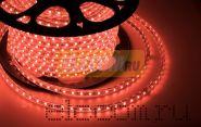 LED лента Neon-Night, герметичная в силиконовой оболочке, 220V, 10*7 мм, IP65, SMD 3528, 60 диодов/метр, цвет светодиодов красный, бухта 100 метров