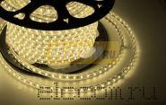 LED лента Neon-Night, герметичная в силиконовой оболочке, 220V, 10*7 мм, IP65, SMD 3528, 60 диодов/метр, цвет светодиодов теплый белый, бухта 100 метров