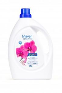 Гель для стирки цветного. Гипоаллергенный. Mayeri Sensitive Color 2,0 л
