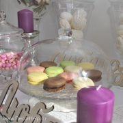 Стеклянная подставка с крышкой для конфет, пирожных, торта (candy bar)