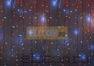 """Гирлянда """"Светодиодный Дождь"""" 2х1,5м, эффект мерцания, белый провод, 220В, диоды КРАСНЫЕ, NEON-NIGHT"""