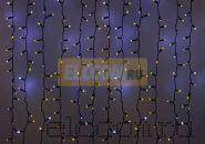 """Гирлянда """"Светодиодный Дождь"""" 2х1,5м, эффект мерцания, черный провод, 220В, диоды ЖЁЛТЫЕ, NEON-NIGHT"""