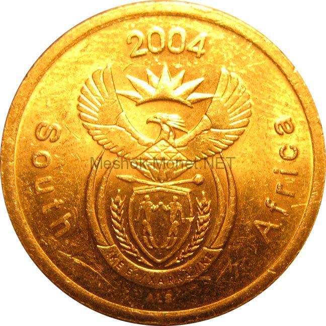 ЮАР 5 центов 2004 г.