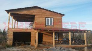 2-этажный дом под отделку 14 км Мельничного тракта г. Иркутска