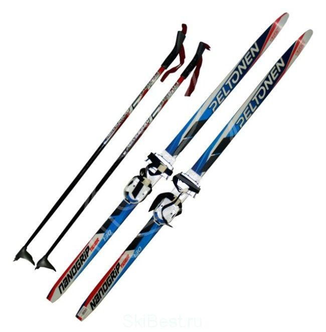 100см.Детский лыжный комплект на обувь