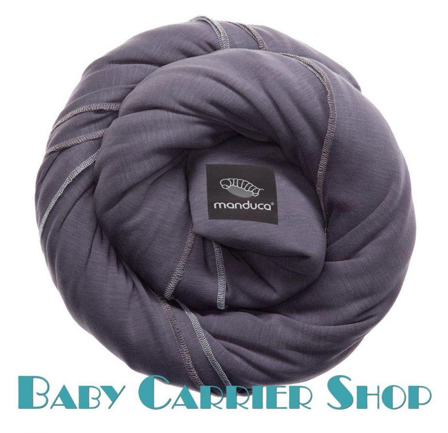 Трикотажный слинг-шарф для новорожденного MANDUCA Sling Slate [Мандука, органический хлопок, Серый]