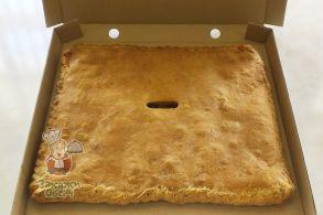 Пирог с творогом и изюмом (2,2 кг.)