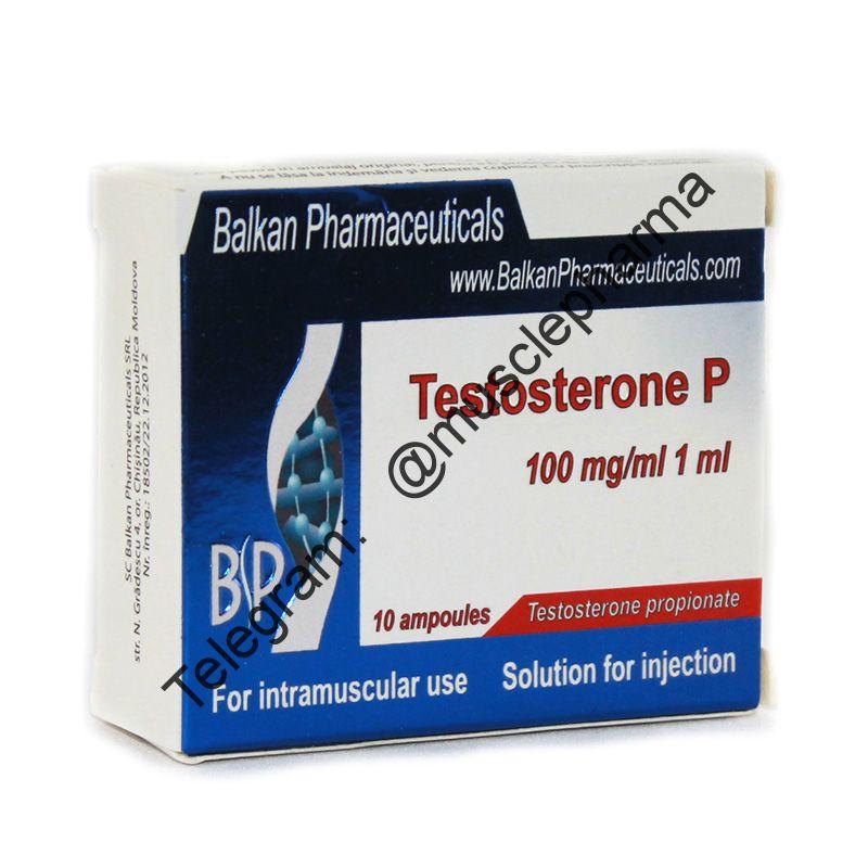 ПРОБНИК  - TESTOSTERONE PROPIONATE. 1 ампула * 1 мл.