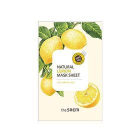 The saem Natural Lemon Mask Sheet 21ml - Маска тканевая с экстрактом лимона