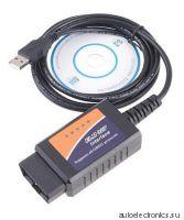 Автосканер ELM327 USB OBD II