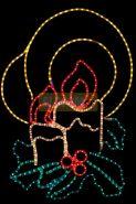 """Фигура """"Две свечи"""", размер 100*75 см NEON-NIGHT"""
