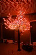 """Светодиодное дерево """"Сакура"""", высота 1,5м, диаметр кроны 1,8м, красные светодиоды, IP 54, понижающий трансформатор в комплекте, NEON-NIGHT"""