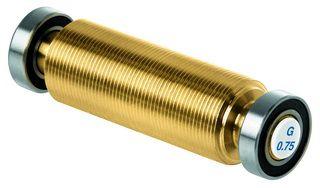 Медный ролик с линейной структурой 1,0 мм для накатки T0423 SWIX