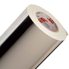 Пленка ПВХ Оракал  352 F901 50/1000 bs Chrom 0,050 серебр. глянц.