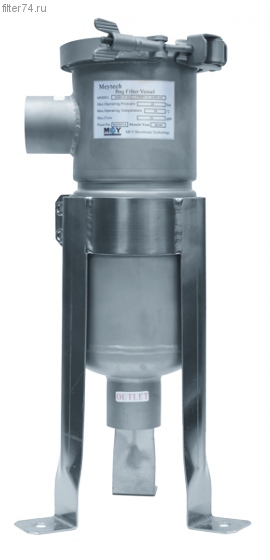 Корпус фильтра Haugzhou Mey тонкой очистки мешочного типа 03 MBH-4-0103-1.5