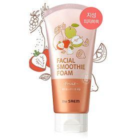 The Saem Facial Smoothie Foam 150ml - Пенка с экстрактами фруктов и ягод