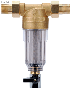 Сетчатый фильтр с промывкой для холодной воды А271