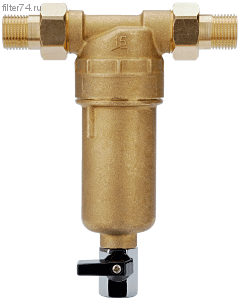 Сетчатый фильтр с промывкой для горячей воды А281