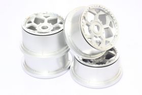 5B Aluminum UFO Wheels Set w/ beadlocks & screws