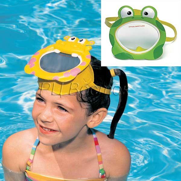 Маска для плавания дет.