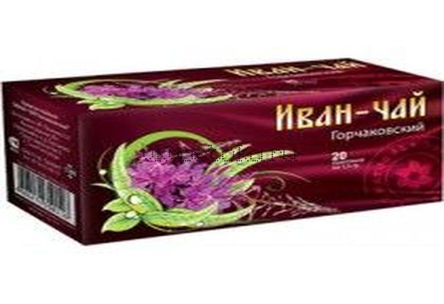 Иван-чай Горчаковский Старорусский с чабрецом 20 пакетиков (шт)