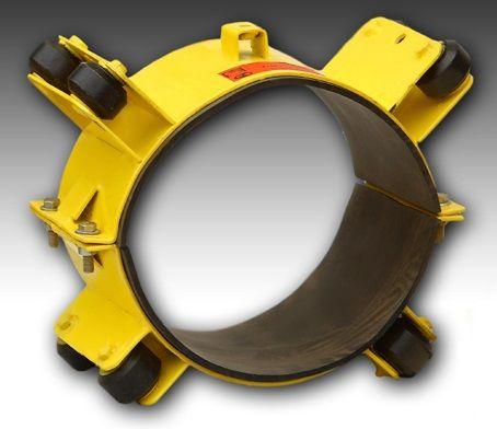 Роликовые опорные кольца ПМТД Тип II