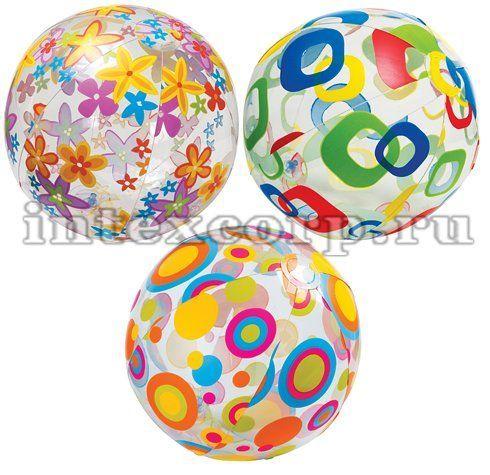Intex Игрушка мяч пляжный 61 см 59050