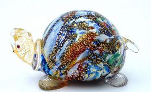 Фигурка Черепаха  муранское стекло
